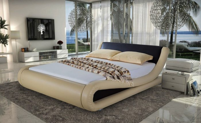 Kremine, moderni dvigule lova Nica su rudu galvugaliu ir intarpu