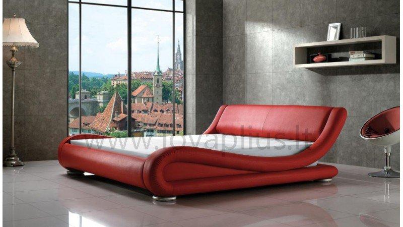 Raudona, moderni dvigule lova Nica