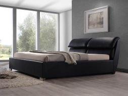 Dvigulė lova Ego, juodos spalvos