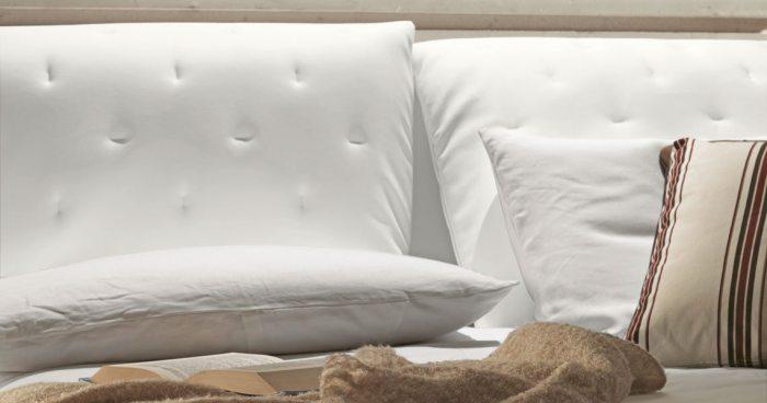 Baltos, modernios dvigules lovos Selena pagalves