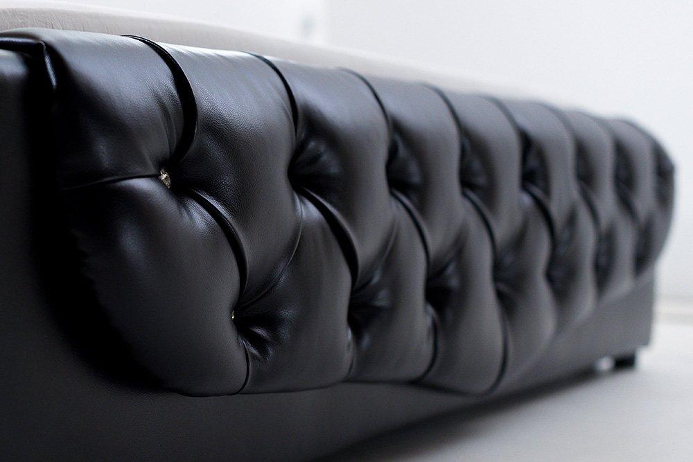 Juodos, modernios dvigules lovos Roma kojugalis