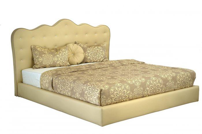 Kremine, klasikine dvigule lova Mona