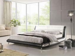 Dvigulė lova Afroditė, juodai balta