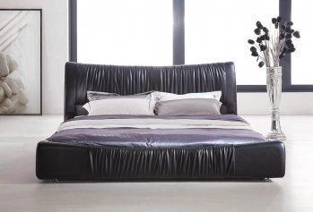 Dvigulė lova Berlin, juodos spalvos