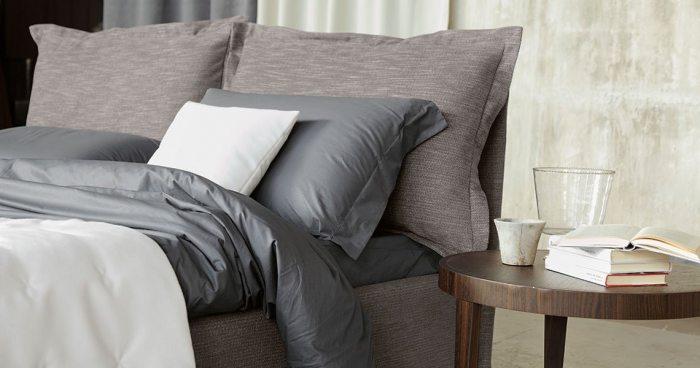 Pilkos, modernios dvigules lovos Ariane galvugalis