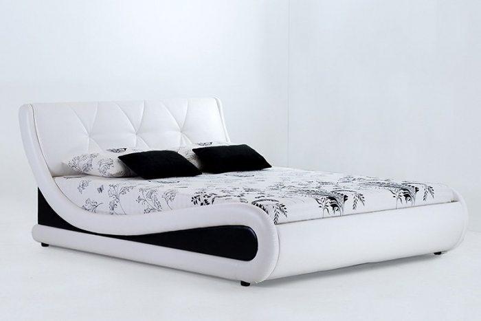 Dvigulė-balta-lova-Nica-Mini