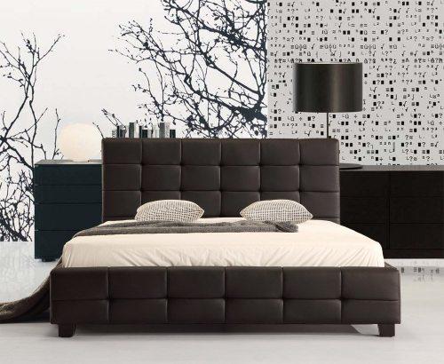 Rudos spalvos lova Vera