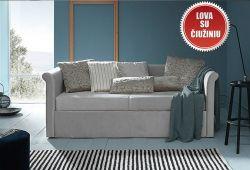 Kremine, klasikine viengule lova Taja su ciuziniu