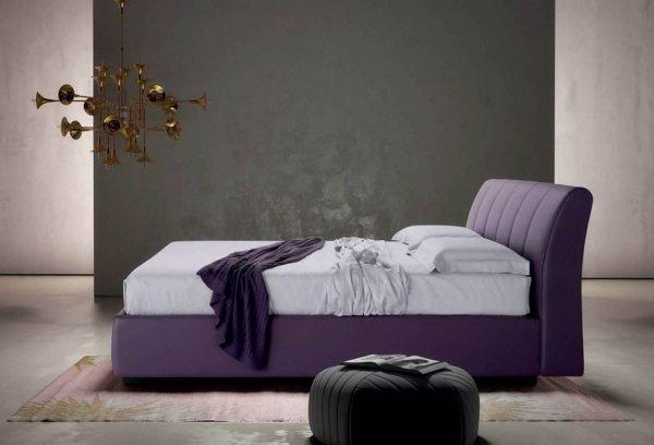 Violetine, klasikine dvigule lova Loren