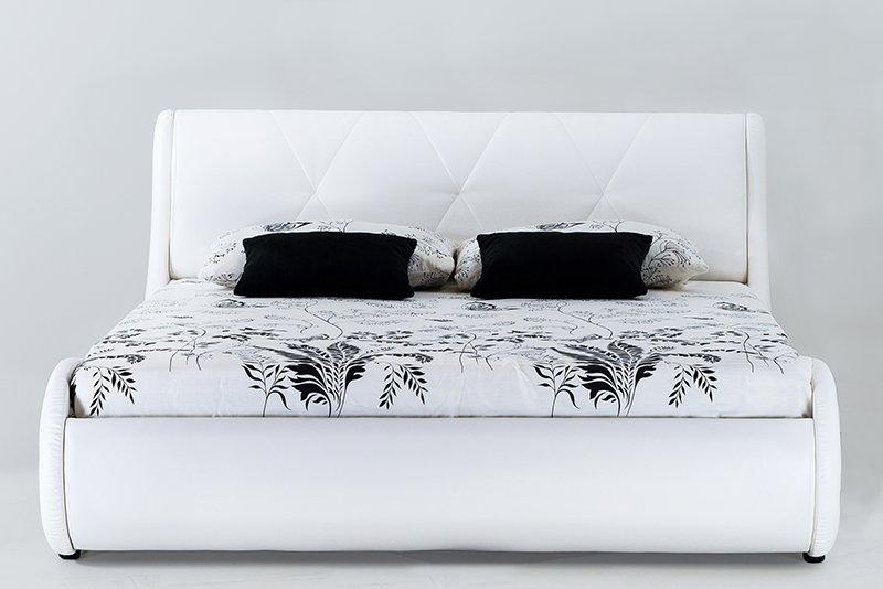 Dvigulė-balta-lova-Nica-Mini-priekis