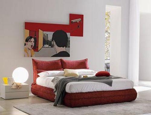Spalvos miegamajame
