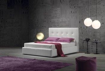 Balta, klasikine dvigule lova Valencia