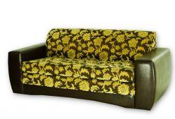 Ruda, klasikinė, trivietė sofa-lova Hugo