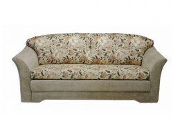 Pilka, klasikinė, trivietė sofa-lova Lotė