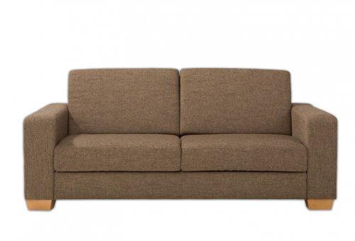 Ruda, klasikinė, dvivietė sofa Vandi
