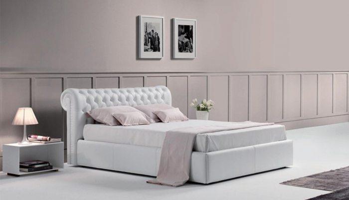 Ispudingo riesto galvugalio dvigule lova Torino is baltos eko odos audinio
