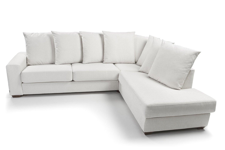 Baltas, klasikinis, minkstas kampas Zorentto