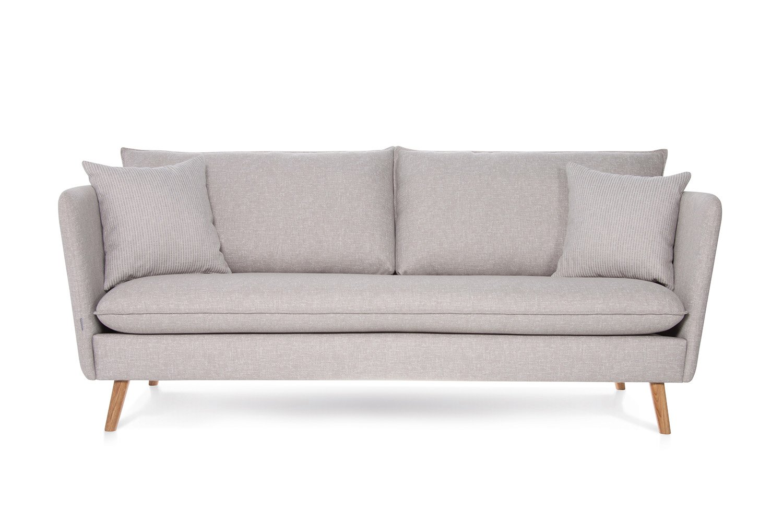 Pilka, moderni sofa Smogen