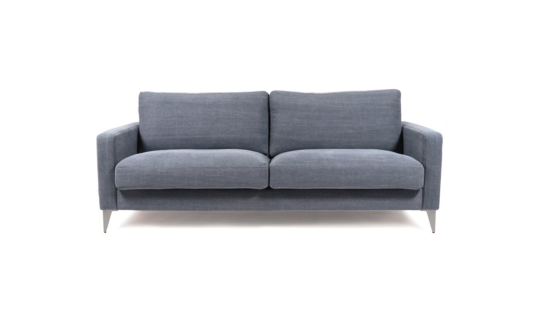 Pilka, moderni, sofa Como