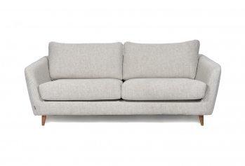 Pilka, modeni sofa Faro