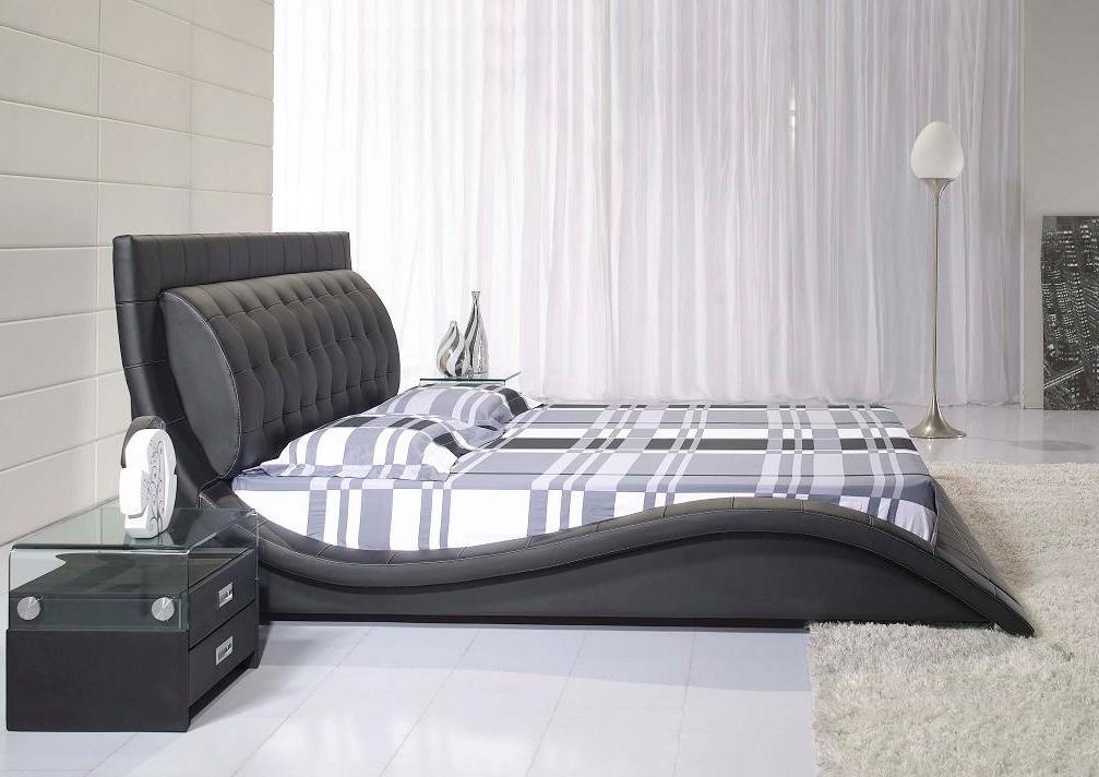 Juoda, moderni dvigule lova Elis