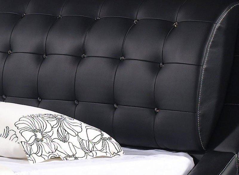 juoda-moderni-dvigule-lova-elis