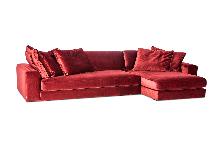 Minkstas-kampas-Blend-raudonas