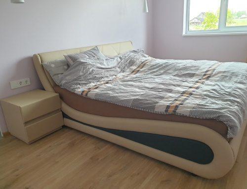 Deimantė iš Garliavos įsigijusi lovą Nica Mini